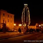 Rozsvícení vánočního stromu v Třebovicích